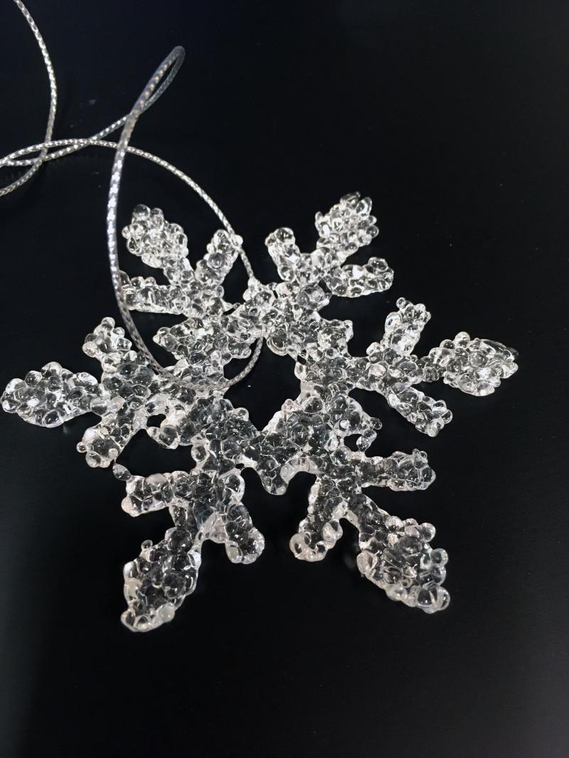 Glass Snowflake